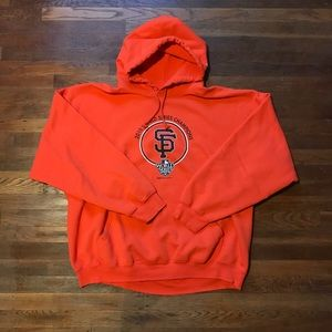 Other - San Francisco Giants World Series champion hoodie